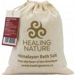 Healing Nature sůl koupelová hrubá červená 1 kg