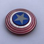 Fidget Spinner Vibranium Captain America