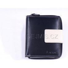 9be9b38cbfa Lagen Dámská kožená peněženka černá béžová