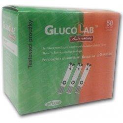GlucoLab testovací proužky pro glukometr 50 ks
