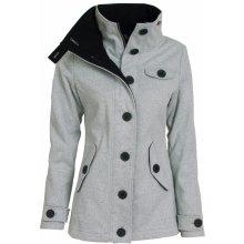 Woox bunda dámská Woolshell Ladies' Jacket šedá