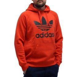 Adidas ORIGINALS TREFOIL HOODIE BK5877 Červená alternativy - Heureka.cz ee95665eb67