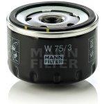 Olejový filtr MANN-FILTER W 75/3