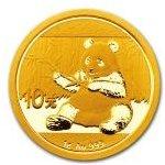 Panda Zlatá mince 2017 1 g