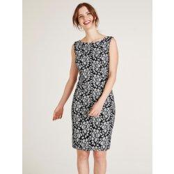 365043bcee9 heine TIMELESS pouzdrové šaty s květinovým designem bílá černá od 2 ...