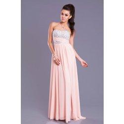 78b12d4d27c0 Eva   Lola dámské společenské plesové šaty růžová alternativy ...