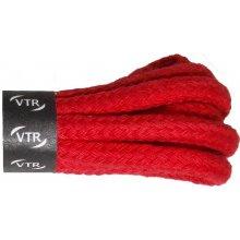 Bavlněné kulaté tkaničky silné Barva  Červená 4ad75234ae