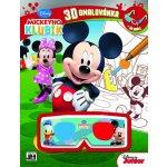 Mickeyho klubík Omalovánky 3D Jiri Models