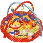 Baby Mix Hrací deka s hrazdou Lev a tygr