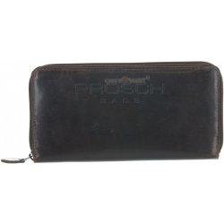 Greenburry Kožená peněženka na zip 4800 24 hnědá 5bb4722e0d