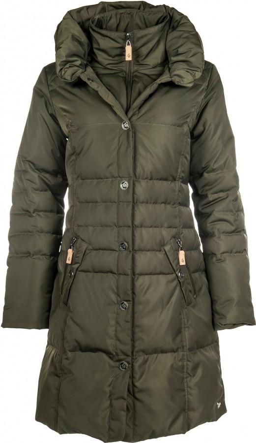 7c2f7506e339 HKM Dámský péřový kabát Paris Highneck tmavě zelená alternativy - Heureka.cz