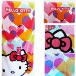 Dětská osuška CTI Hello Kitty Mimi Love froté 75x150 cm