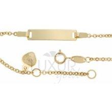 zlatý dětský náramek Luxur gold 1440717