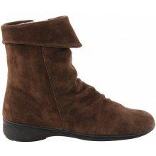 Blancheporte kotníkové boty s teplou podšívkou kaštanové d770260d0c
