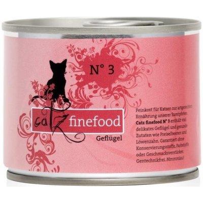 Petnature Catz Finefood No.3 s drůbežím masem 200 g