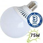 Tipa LED žárovka G95 E27/230V 12W bílá teplá
