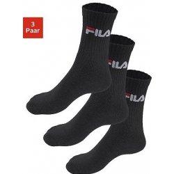 Fila Sportovní ponožky 3 páry černá od 279 Kč - Heureka.cz 51285369aa