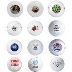 Potisk golfových míčků 3 balení