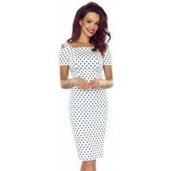 Filtrování nabídek Bergamo šaty s puntíky 8502 bílá - Heureka.cz 34769403a8