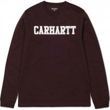 Carhartt College L/S bordó