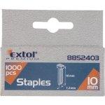 Extol Premium hřebíky, 1000ks, 12mm, 2,0x0,52x1,2mm, 8852404
