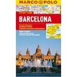 Barcelona kapesní mapa lamino