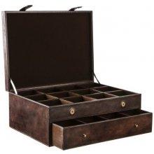 Balmuir kožená krabice na kravaty Gregor dark brown 6001a0d1ae