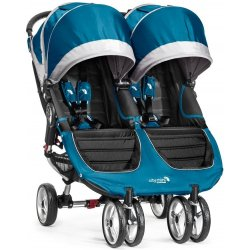 Baby Jogger City Mini GT Double teal šedý 2015