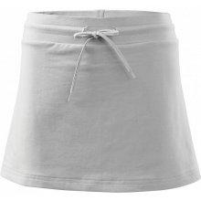 Adler dámská mini sukně two in one bílá
