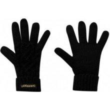 Golddigga Cable Gloves Ladies black