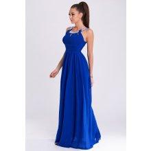 Eva   Lola společenské šaty Essia královská modrá 3cf50678596