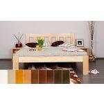 Elisa - celomasivní postel z buku nebo dubu