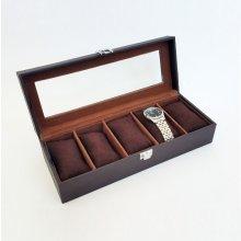 JKBox kazeta na hodinky SP-936 A21 hnědá ff9f52d0c7