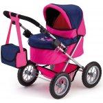 Bayer Trendy kočárek pro panenky růžový/modrý