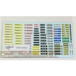 T2M Harness Manufacture Decals & Stickers 1/12