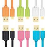 Axagon BUMM-AM10QO Micro USB, 2A, 1m, oranžový