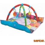 TAF TOYS hrací deka s hrazdou pro novorozence 90x90cm