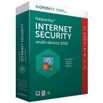 Kaspersky Internet Security multi-device 2017 4 lic. 2 roky nová licence elektronicky (KL1941XCDDS)