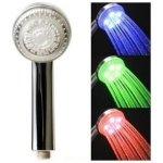 Barevná svítící sprcha , LED sprchová hlavice