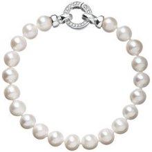 Evolution Group stříbrný perlový náramek 23003.1