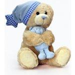 Keel Toys hudební medvídek Cuddle Teddy modrá