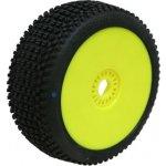 PROCIRCUIT ROAD RUNNER medium/modrá směs Off-Road 1:8 Buggy gumy nalep. na žlutých disk. 2ks