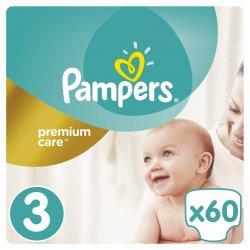 Pampers Premium Care 3 Midi 5-9 kg 60 ks