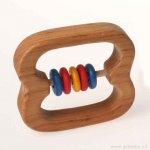 Grimm's Chrastítko s 5 velkými barevnými kroužky