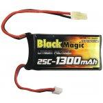 LiPol Black Magic 7.4V 1300 mAh 25C MT