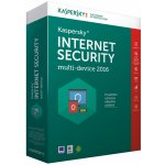Kaspersky Internet Security Multi-Device 1 lic. 1 rok nová licence