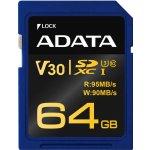 ADATA SDXC 64GB UHS-I U3 ASDX64GUI3V30G-R