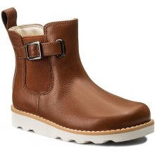 Clarks Crown Art Inf 261305426 Tan Leather