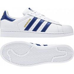 279a36911 Adidas Originals SUPERSTAR Bílá / Tmavě modrá / Zlatá alternativy ...