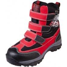 Alpine Pro dětská zimní obuv PENGUINS PTX KIDS červená 5762445